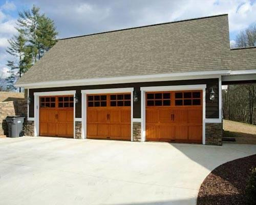 Charming Three Car Garage Gallery Great Pictures